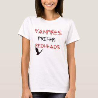 Camiseta redheads do orefer dos vamoires
