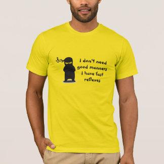 Camiseta Reflexos de Ninja