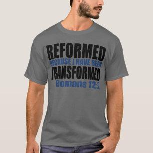 Camiseta Reformado porque eu fui transformado
