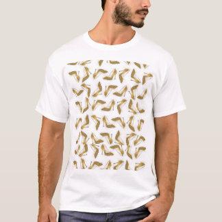 Camiseta Refrigere calçados na moda do salto alto do brilho