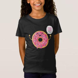 Camiseta Refrigere meninas pretas a preocupação da
