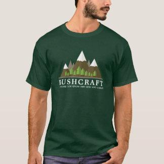 Camiseta Região selvagem exterior Bushcraft