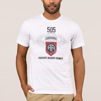 Camiseta Regimento de infantaria 82nd de 505 pára-quedas
