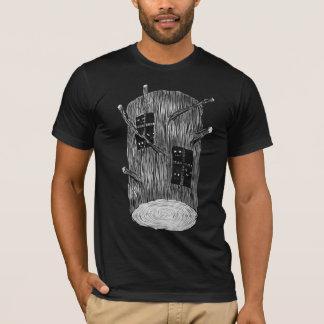 Camiseta Registro da árvore com as criaturas misteriosas da