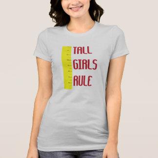 Camiseta Regra alta das meninas