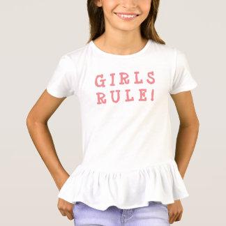Camiseta Regra das meninas do t-shirt das meninas!