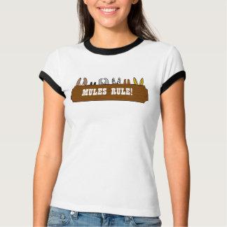 Camiseta Regra das mulas!