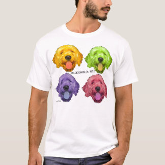Camiseta Regra de Goldendoodles!