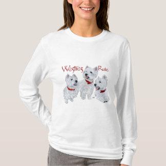 Camiseta Regra de Westies!