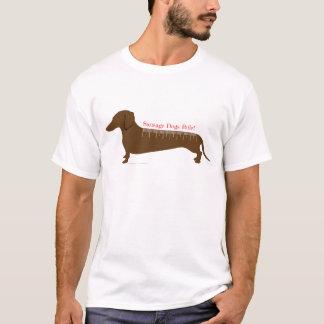 Camiseta Regra dos cães de salsicha