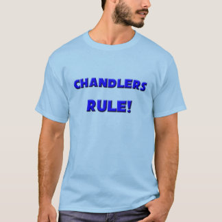 Camiseta Regra dos Chandlers!