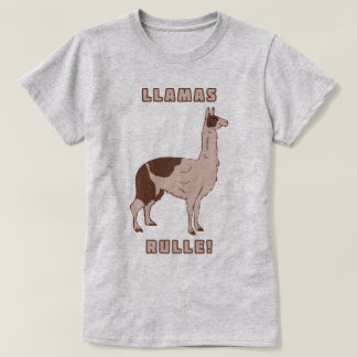 Camiseta Regra dos lamas!