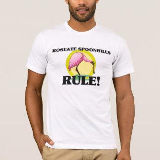 Camiseta Regra dos SPOONBILLS RÓSEOS!