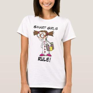 Camiseta Regra esperta das meninas