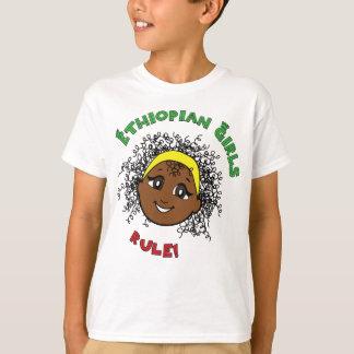 Camiseta Regra etíope das meninas!