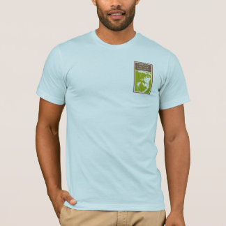 Camiseta Regras da evolução! 98,76% Chimpanzé no roupa