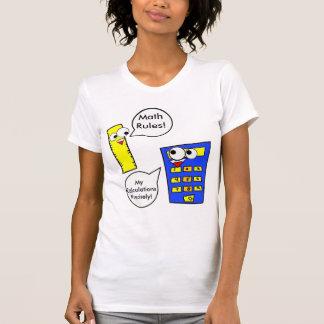 Camiseta Regras da matemática