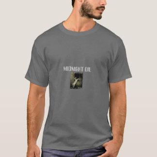 Camiseta regras da meia-noite do óleo