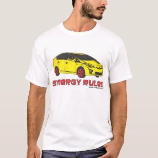 Camiseta Regras da sinergia de Toyota Prius