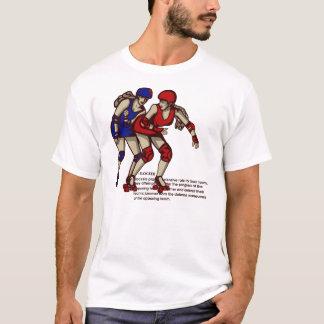 Camiseta Regras de derby do rolo: Construtor