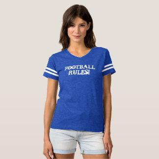 Camiseta REGRAS DO FUTEBOL! T-shirt Flirty confortável