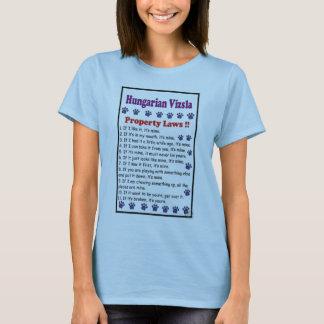Camiseta regras do vizsla