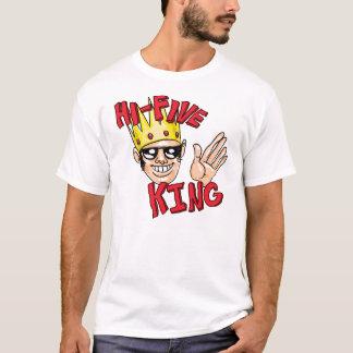 Camiseta Rei cinco alto