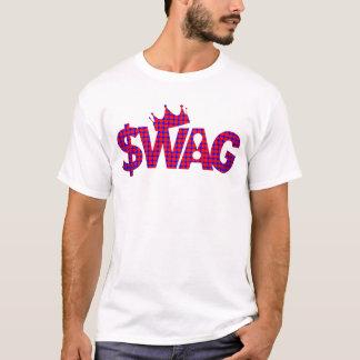 Camiseta Rei da estrela mundial dos ganhos!