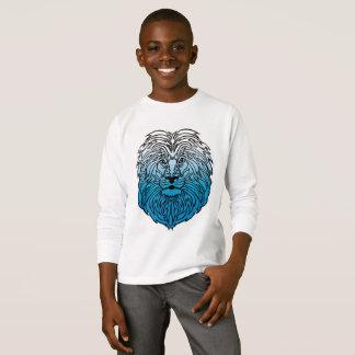 Camiseta Rei da selva, o t-shirt do menino azul do leão