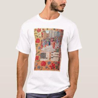 Camiseta Rei David e músicos, do breviário
