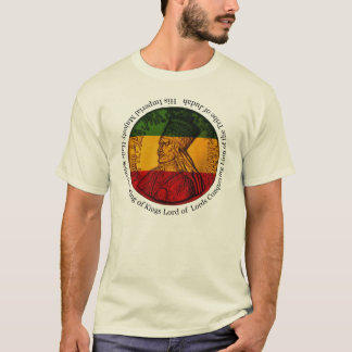 Camiseta Rei de Haile Selassie dos reis T-shirt