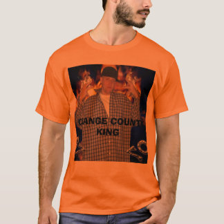 CAMISETA REI DO CONDADO DE ORANGE