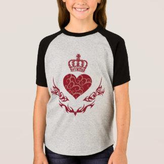 Camiseta Rei do coração