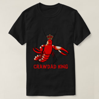 Camiseta Rei do Crawdad