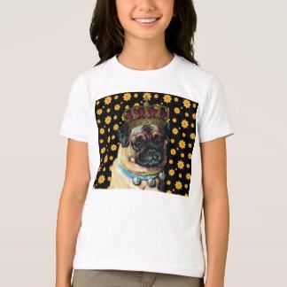 Camiseta Rei do filhote de cachorro