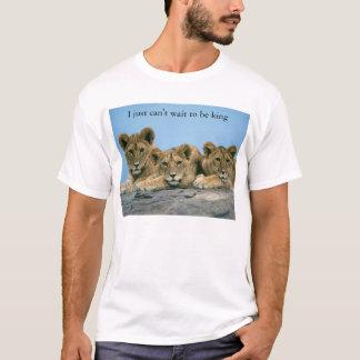 Camiseta rei do leão