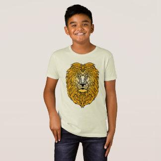 Camiseta Rei do t-shirt do menino da selva