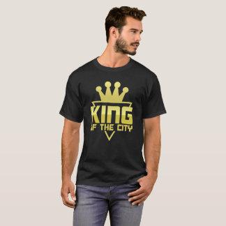 Camiseta Rei do t-shirt do ouro da cidade