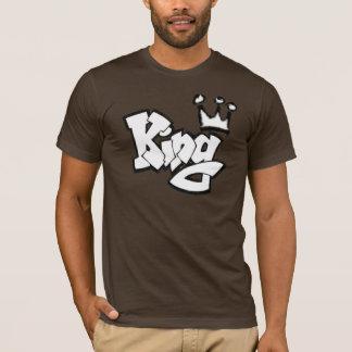 Camiseta Rei dos grafites com coroa