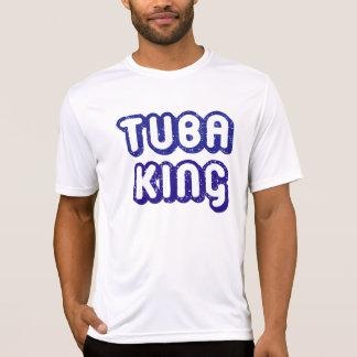 Camiseta Rei Engraçado Música T da tuba
