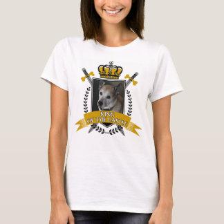 Camiseta Rei feito sob encomenda do cão do castelo