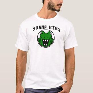 Camiseta Rei Jacaré Símbolo do pântano