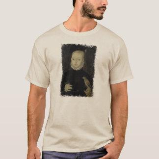 Camiseta Rei James VI com falcão de pardal - 1574