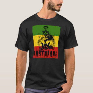 Camiseta Rei Solomon Leão de Rastafari do t-shirt de Judah