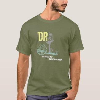 Camiseta Reichsbahn desenhos DDR
