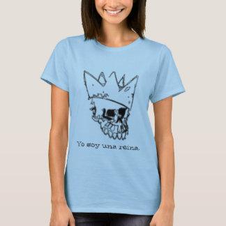 Camiseta Reina. do una da soja de Yo