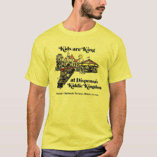 Camiseta Reino do Kiddie de Dispensa, terraço de Oak Brook