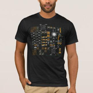 Camiseta Relação homem-máquina de Streetwear da ficção