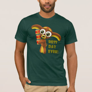 Camiseta Relação - o melhor dia nunca! T-shirt