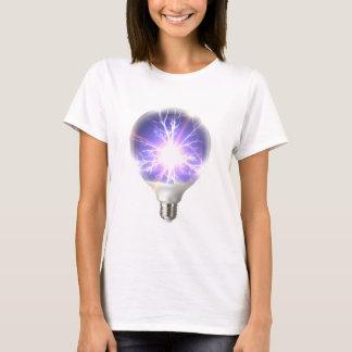 Camiseta Relâmpago do bulbo